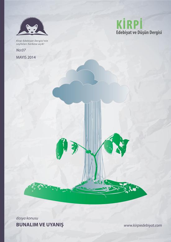 Kirpi Edebiyat ve Düşün Dergisi 7. Sayı Kapak